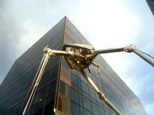 «War of the worlds» on the streets of England...