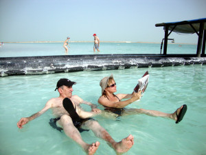Hurry and visit the Dead Sea before it disappears!