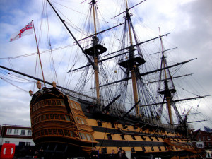 The city with a Royal naval history