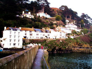 The fishing village of Polperro