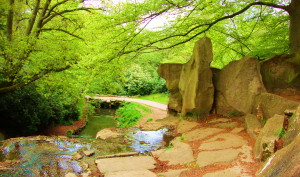 Virginia Water's landscape garden