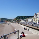 The Esplanade is the main street down by the front in Sidmouth