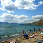 Beach in Ordzhonikidze