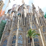 Church Sagrada Familia in Barcelona