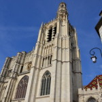 My car travels to Europe (day 13). Burgundy,Sens Cathedrale