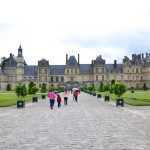 My car travels to Europe (day 14). Fontainebleau