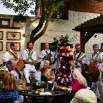 Morris dancing and Jazz on the river at Abingdon