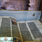 Bible in Malmesbury Abbey