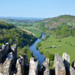 The Symonds Yat Rock in the Forest of Dean