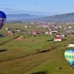 One hundred balloons in the sky for Romania
